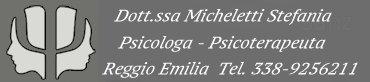 psicologo reggio emilia micheletti stefania Logo
